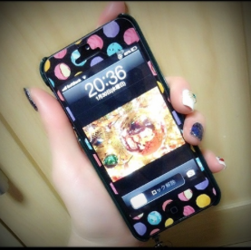 階上実穂 iPhoneケース